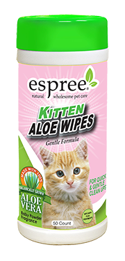 Espree Kitten Aloe Wipes 50ct