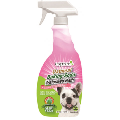 Espree Oatmeal Baking Soda Waterless Bath 24oz - Kohepets