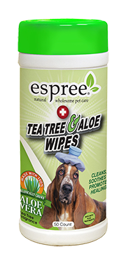 Espree Tea Tree & Aloe Wipes 50ct