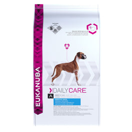 'FREE TREATS': Eukanuba Adult Daily Care Sensitive Joints Dry Dog Food 12.5kg