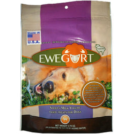 2 FOR $50 WITH FREE SOAP: Ewegurt Sheep's Milk Yogurt With Sardines Freeze Dried Dog Treats 2.75oz