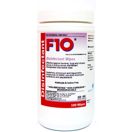 F10 Disinfectant Wipes 100ct