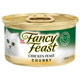 Fancy Feast Chunky Chicken Feast Canned Cat Food 85g
