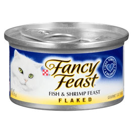 Fancy Feast Flaked Fish & Shrimp Feast Canned Cat Food 85g