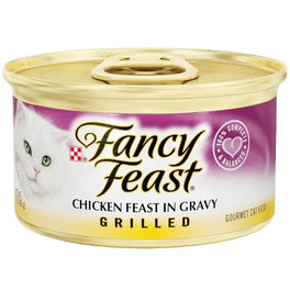 Fancy Feast Grilled Chicken Feast In Gravy Canned Cat Food 85g