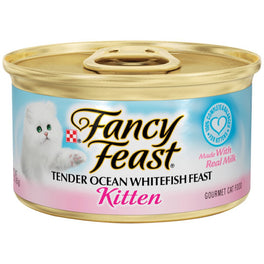 Fancy Feast Tender Ocean Whitefish Feast Canned Kitten Food 85g