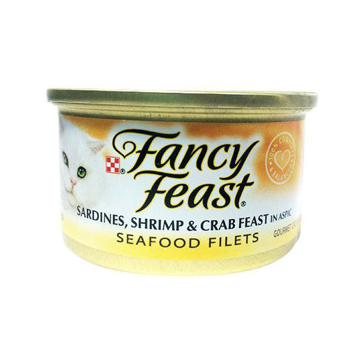 Fancy Feast Sardines, Shrimp & Crab Canned Cat Food 85g