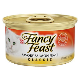 Fancy Feast Savory Salmon Feast Canned Cat Food 85g