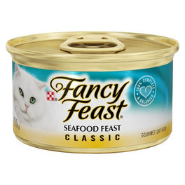 Fancy Feast Seafood Feast Canned Cat Food 85g