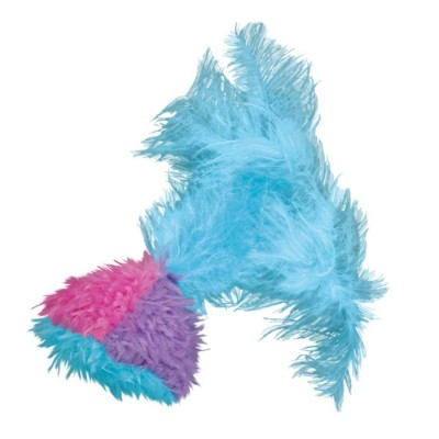 Kong Feather Tumbler Refillable Catnip Cat Toy