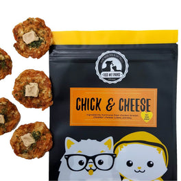 Feed My Paws Chick & Cheese Cat & Dog Treats 70g