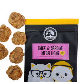 Feed My Paws Chicken & Sardine Medallions Cat & Dog Treats 70g