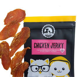 Feed My Paws Chicken Jerky Cat & Dog Treats 70g