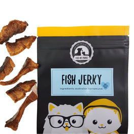 Feed My Paws Fish Jerky Cat & Dog Treats 60g