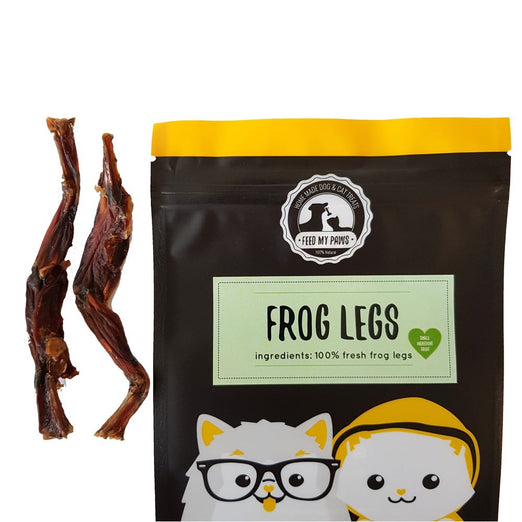 Feed My Paws Frog Legs Cat & Dog Treats 70g