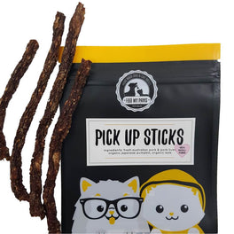 Feed My Paws Pick Up Sticks Pork Cat & Dog Treats 70g