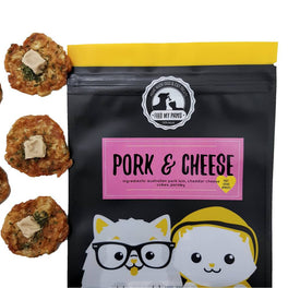 Feed My Paws Pork & Cheese Cat & Dog Treats 70g
