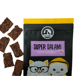 Feed My Paws Super Salami Cat & Dog Treats 70g