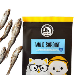Feed My Paws Wild Sardine Cat & Dog Treats 60g