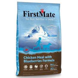 20% OFF: FirstMate Grain Free Chicken Meal With Blueberries Formula Small Bites Dry Dog Food