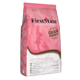 FirstMate Grain-Friendly Cat & Kitten Formula Dry Cat Food
