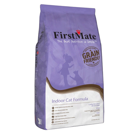 FirstMate Grain-Friendly Indoor Cat Formula Dry Cat Food