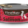 FirstMate Grain Free Wild Salmon Formula Canned Cat Food 156g - Kohepets