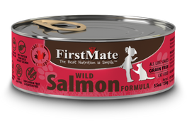FirstMate Grain Free Wild Salmon Formula Canned Cat Food 156g