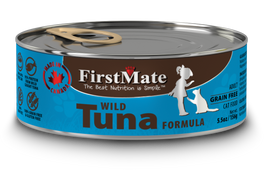 FirstMate Grain Free Wild Tuna Formula Canned Cat Food 156g