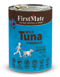 FirstMate Grain Free Wild Tuna Formula Canned Dog Food 12.5oz