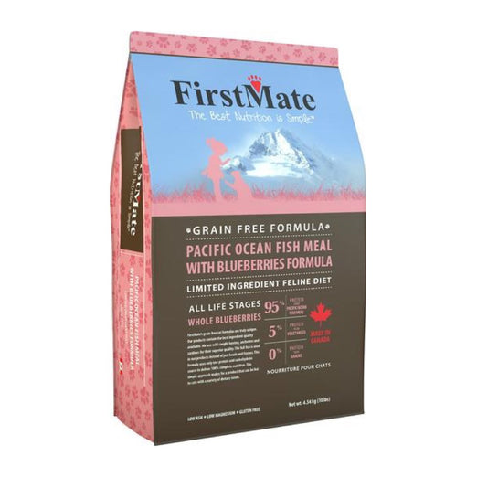 20% OFF: FirstMate Grain Free Pacific Ocean Fish With Blueberries Formula Dry Cat Food - Kohepets