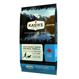 FREE CANNED FOOD: Kasiks Wild Pacific Ocean Fish Meal Grain Free Dry Dog Food