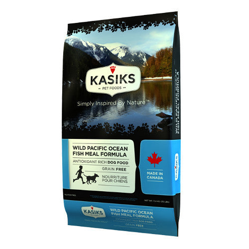 Kasiks Wild Pacific Ocean Fish Meal Grain Free Dry Dog Food - Kohepets