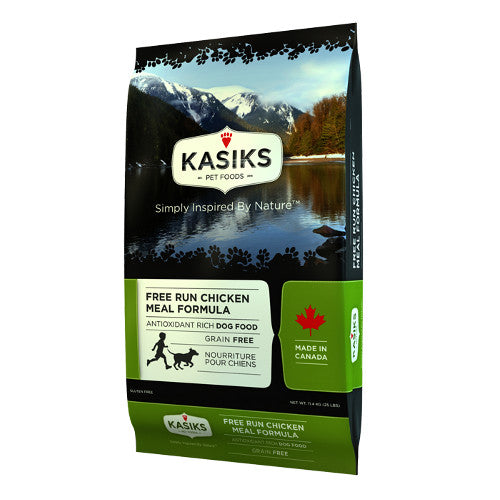 Kasiks Free Run Chicken Meal Grain Free Dry Dog Food - Kohepets