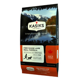 FREE CANNED FOOD: Kasiks Free Range Lamb Meal Grain Free Dry Dog Food