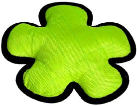 Dogit Tuff Luvz Nylon Flower Lime Dog Toy - Kohepets