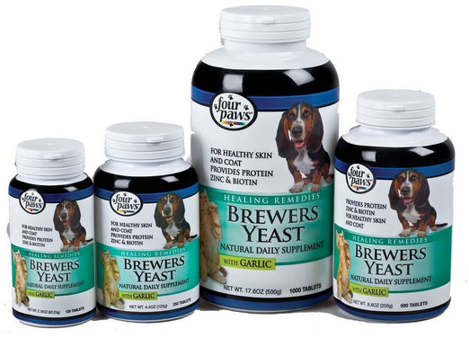 Four Paws Brewers Yeast with Garlic Supplement