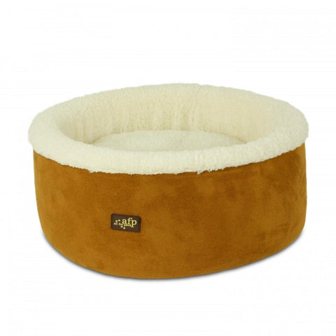 All For Paws Curl & Cuddle 16'' Cat Bed - Kohepets