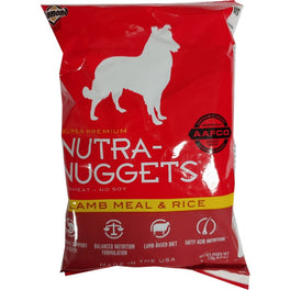 Free Sample - Nutra-Nuggets Lamb Meal & Rice Adult Dry Dog Food 170g