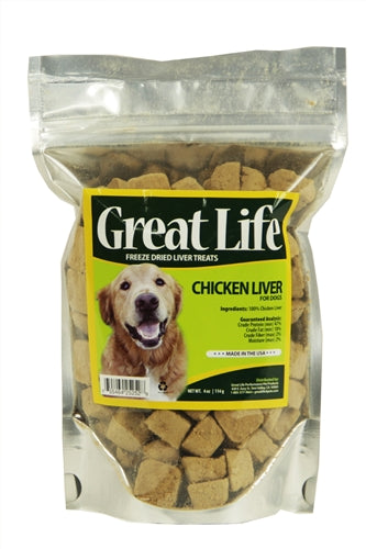 Great Life Freeze-Dried Chicken Liver Treats