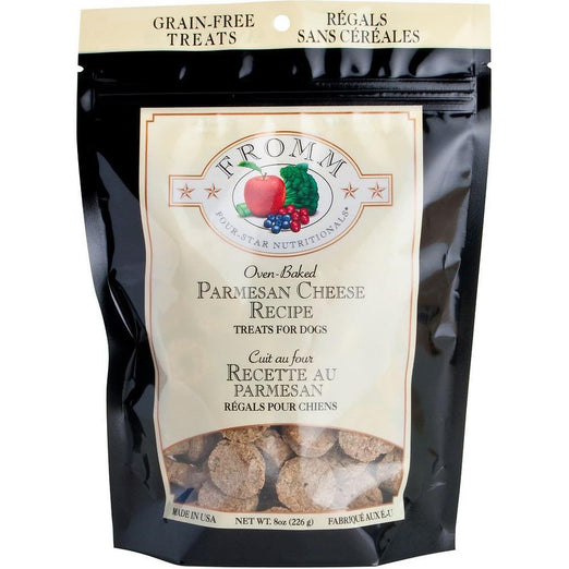 Fromm Parmesan Cheese Dog Treats 8oz - Kohepets