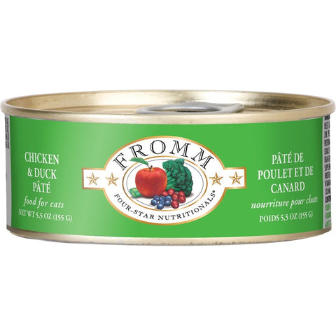 Fromm Chicken & Duck Pate Canned Cat Food 155g