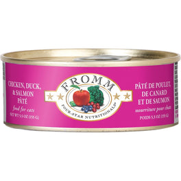 Fromm Chicken, Duck & Salmon Pate Canned Cat Food 155g