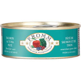 Fromm Salmon & Tuna Pate Canned Cat Food 155g
