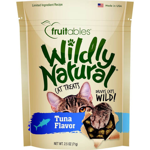 $2.50 OFF (Exp May 20): Fruitables Wildly Natural Tuna Cat Treats 2.5oz