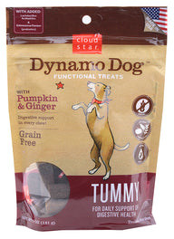 $7 OFF: Cloud Star Dynamo Dog Pumpkin & Ginger Tummy Soft Chews Dog Treats 5oz (Exp 27 Mar 19)