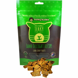 Funky Buddie Lamb Delight Cat Treats 4oz