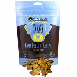 Funky Buddie Lamb Delight Dog Treats 4oz