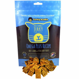 Funky Buddie Omega Plus Cat Treats 4oz