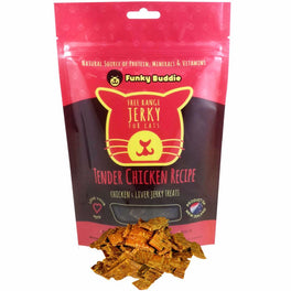 Funky Buddie Tender Chicken Cat Treats 4oz